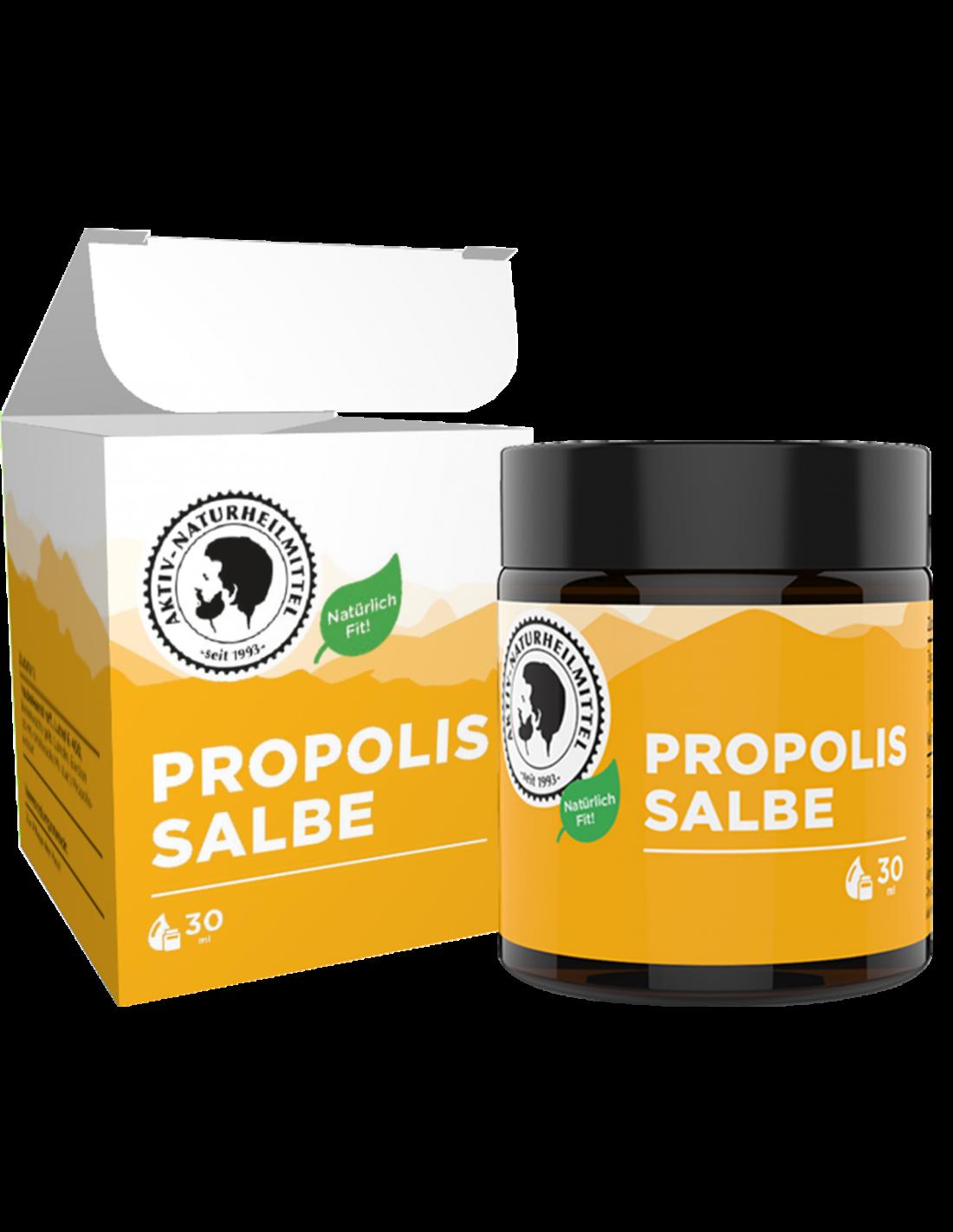 Propolis Salbe mit Schachtel