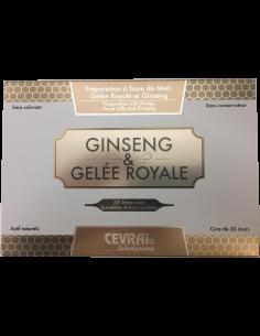 Gelee Royale + Ginseng Ampullen